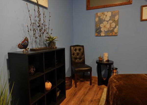 Relax Blacksburg massage room