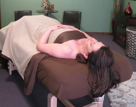 proper massage draping