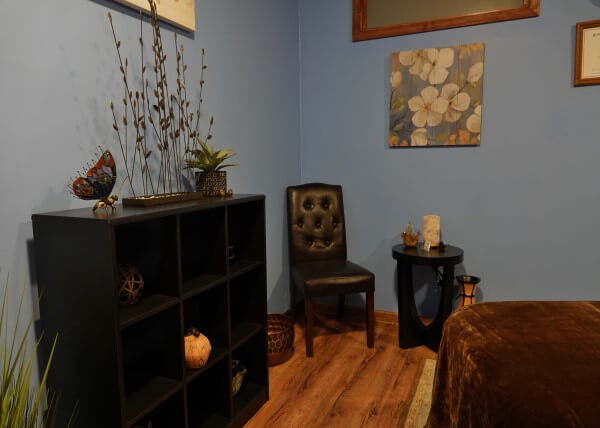 Relax Blacksburg massage room