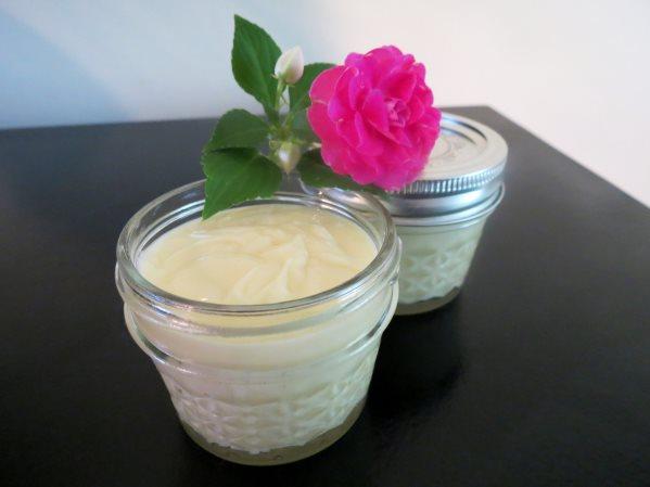homemade organic body butter