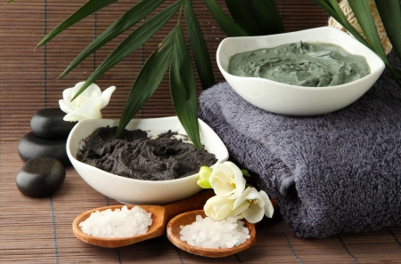 Full Body Scrub and Wrap with Dead Sea Mud or Seaweed Blend